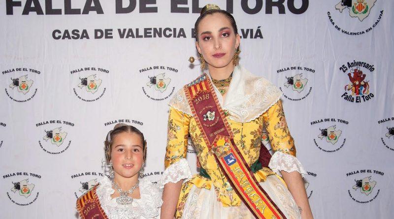 Falleras Mayores 2018 Falla de El Toro