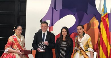 Nuestras Falleras Mayores en las Fallas de Valencia 2018