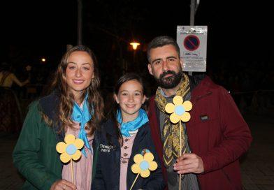 La Falla de El Toro agradece la asistencia de las Falleras Mayores de Valencia