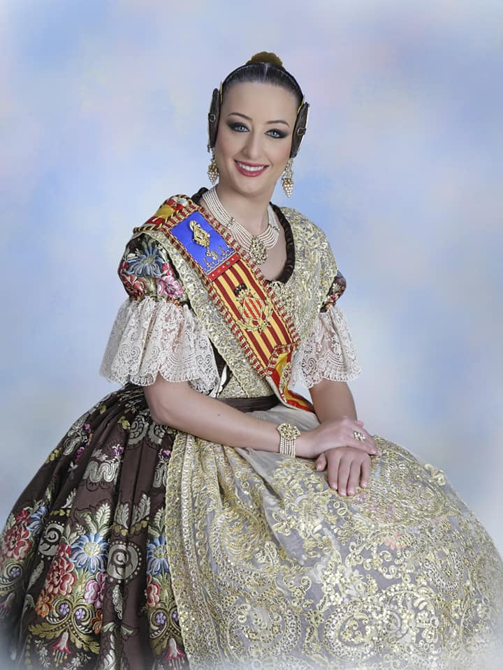 Fallera Mayor de Valencia 2018