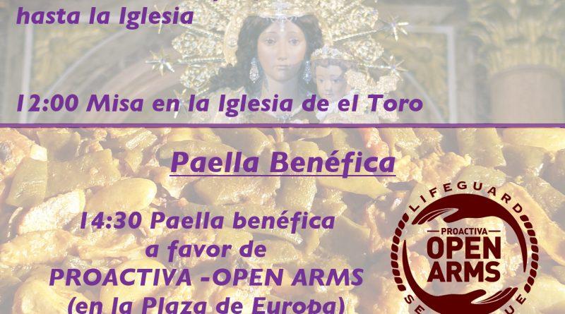 El 13 de Mayo tenemos Procesión, Paella y Apuntà