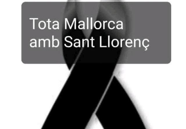 Comunicado sobre el cambio en los actos del día 12 por la tragedia en Sant Llorenç